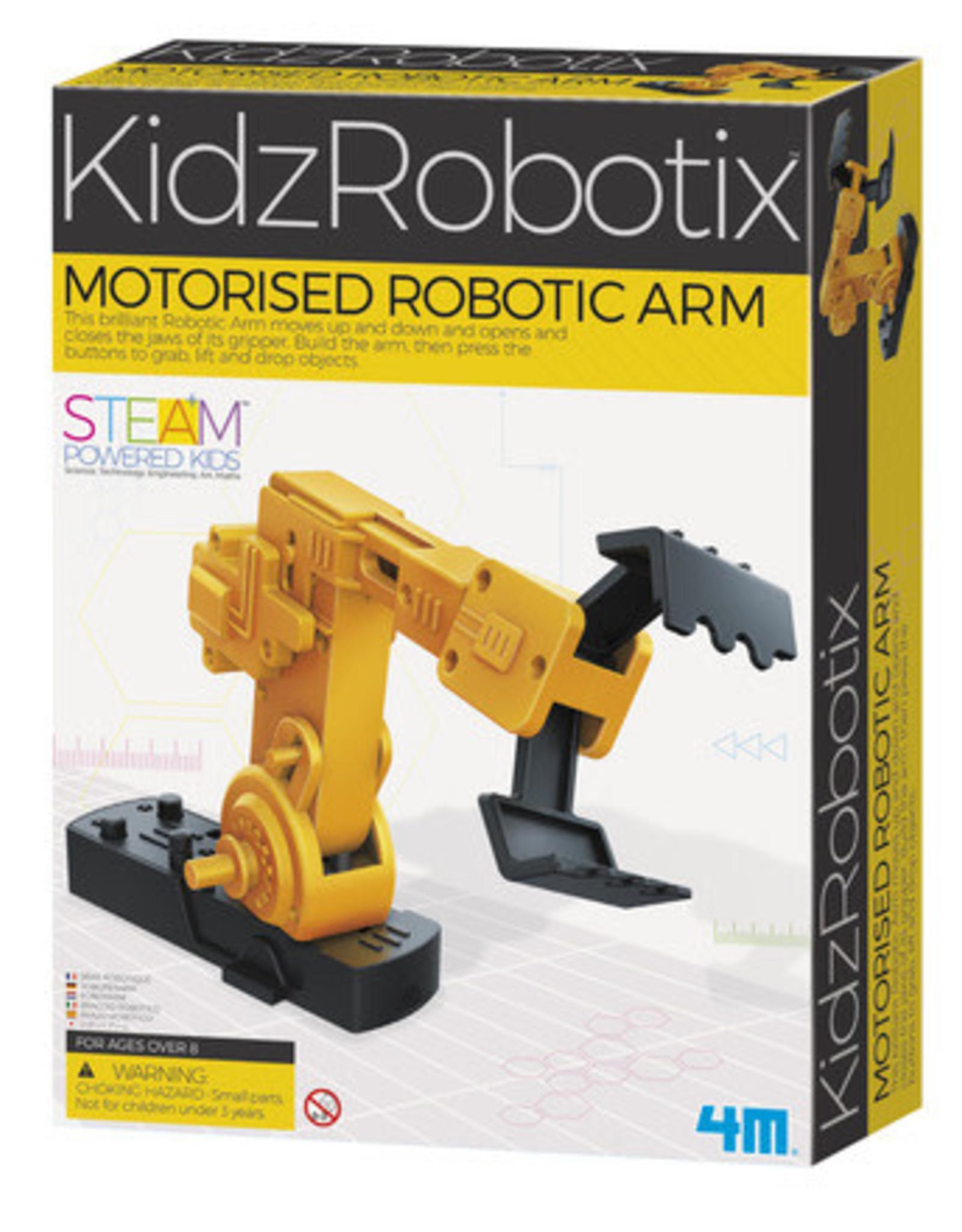 KidzRobotix Motorized Robotic Arm