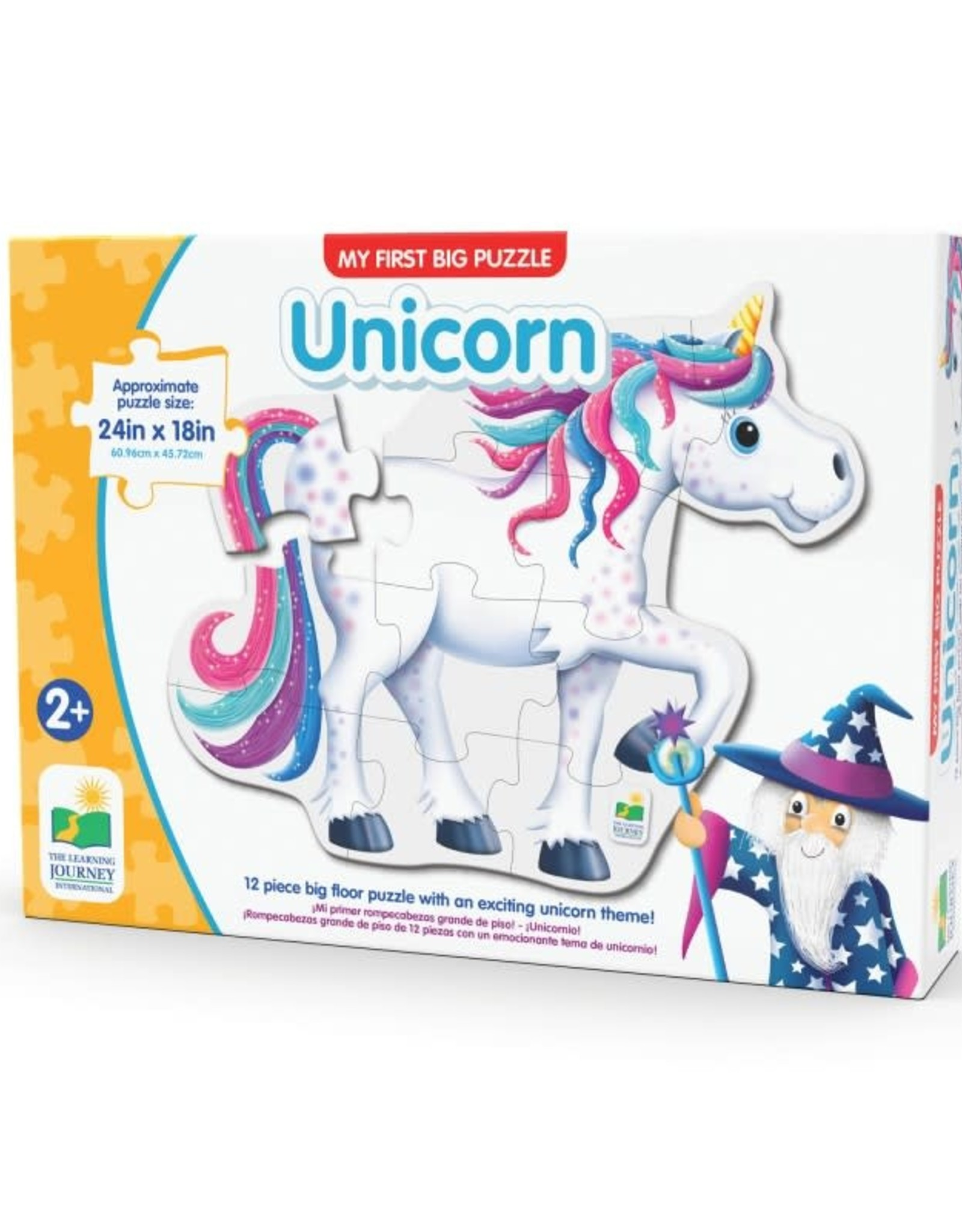 The Learning Journey 12pc Floor Puzzle My First Unicorn