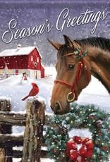 Carson C Barnyard Christmas