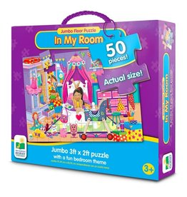 The Learning Journey 50pc Jumbo Floor Puzzle In My Room