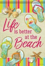 Carson C Beach Flip Flops GF