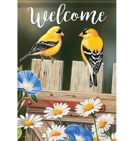 Carson C Bluebell Goldfinches