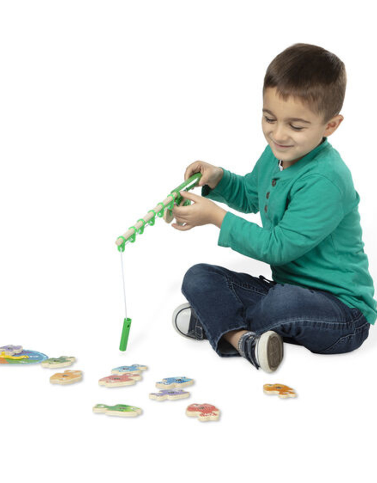 Melissa & Doug MD Fishing Game Catch & Count