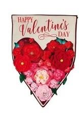 Evergreen EV Garden Floral Heart Valentines