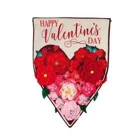 Evergreen EV Floral Ombre Heart GF