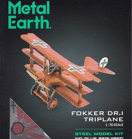 Metal Earth ME Fokker Triplane
