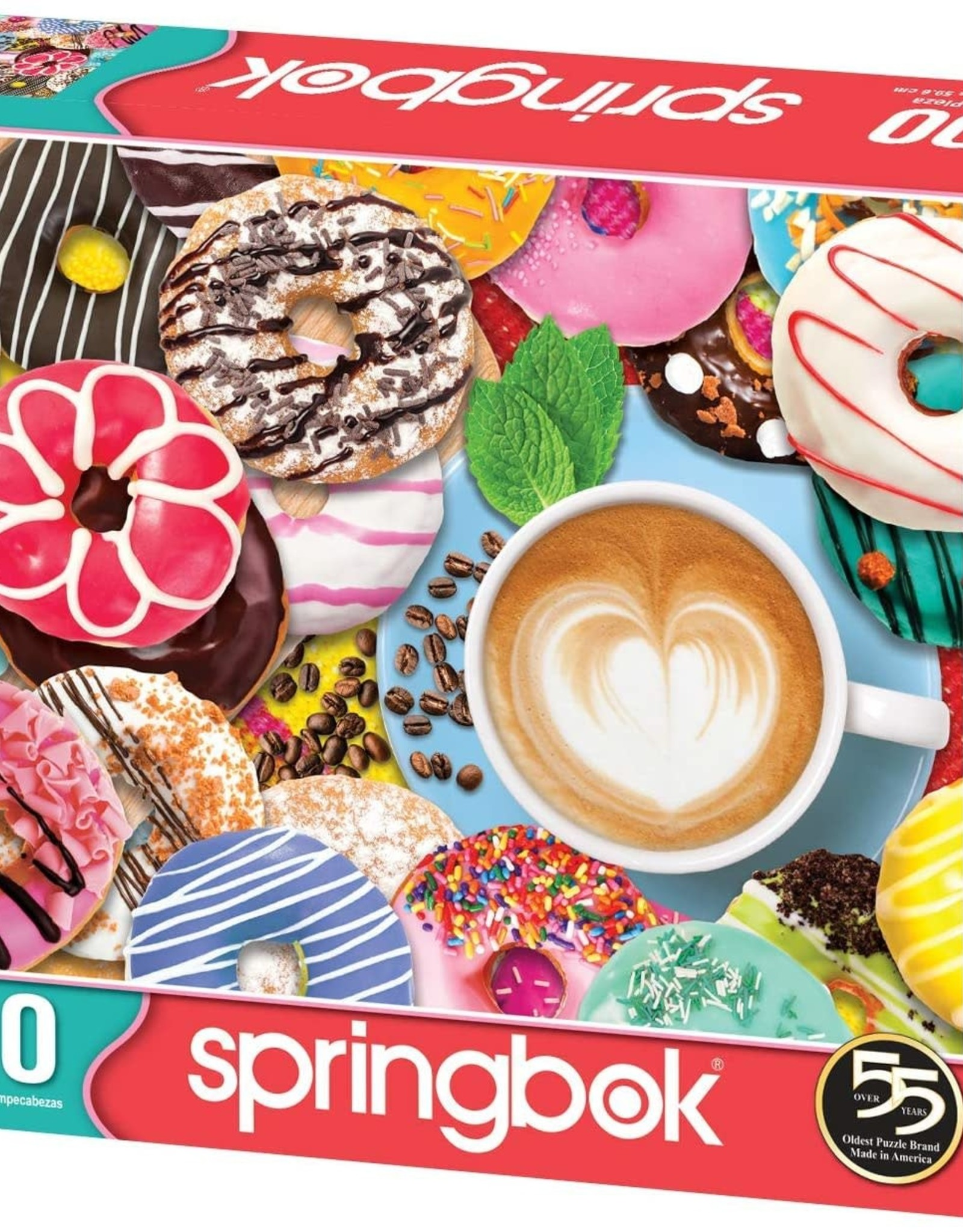Springbok Donuts n' Coffee  500pc