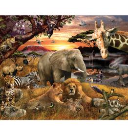 Springbok Wild Savanna Family 400