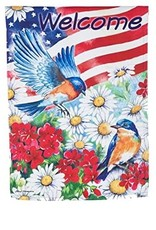Evergreen EV American Flag Birds