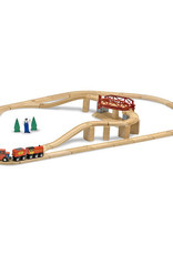 Melissa & Doug MD Train Set Swivel Bridge