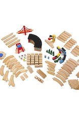 Melissa & Doug MD Wooden Railway Set