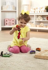 Melissa & Doug MD Wooden Train Cars