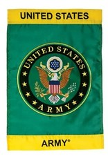 In The Breeze GF Army Seal Embroidered One-Sided