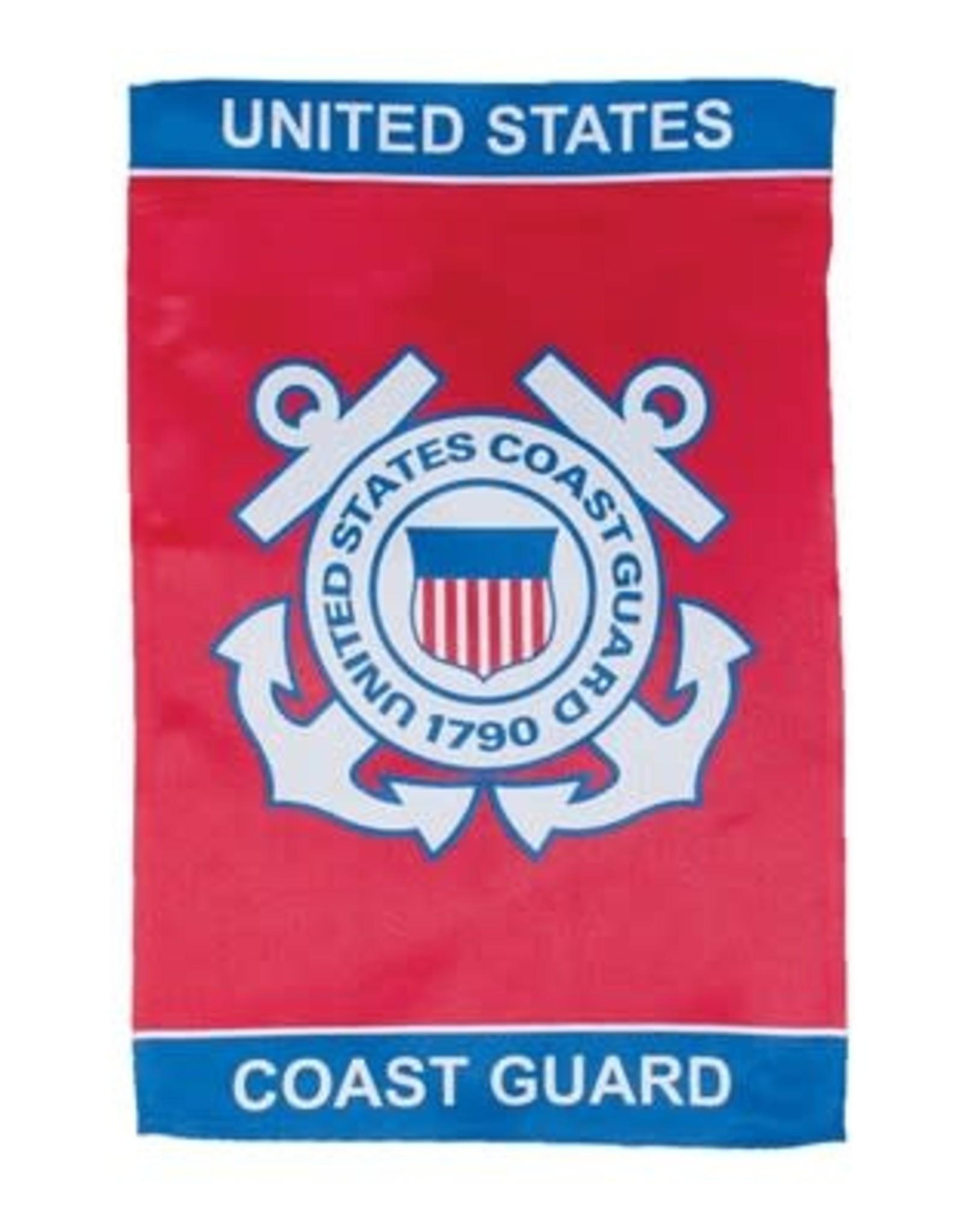In The Breeze 12x18 Coast Guard Lustre GF