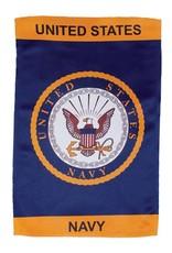 In The Breeze 12x18 Navy Lustre GF