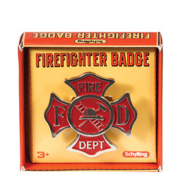Schylling Badge Firefighter
