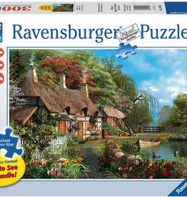Ravensburger Cottage on a Lake 300pc