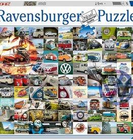 Ravensburger 3000pc 99 VW Camper Van Moments