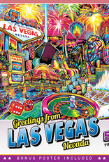Master Pieces 550pc Greetings From Las Vegas