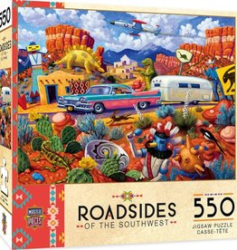 Master Pieces 550pc Roadsides Off the Beaten Path