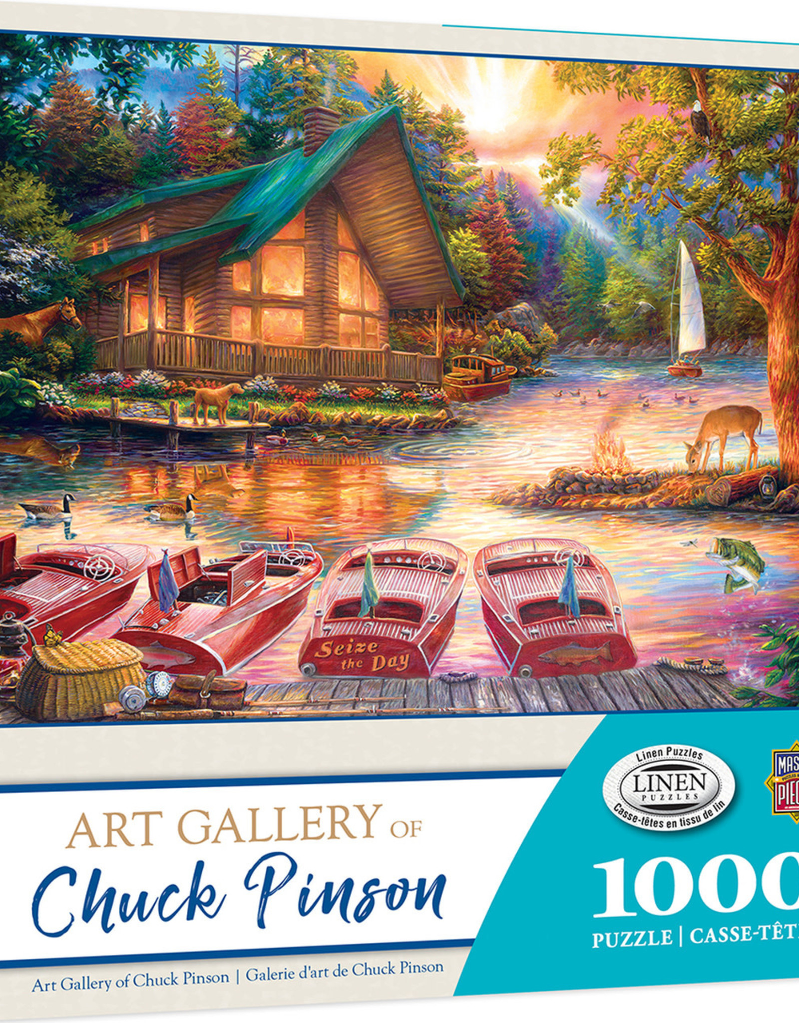 Master Pieces 1000pc Chuck Pinson Seize the Day