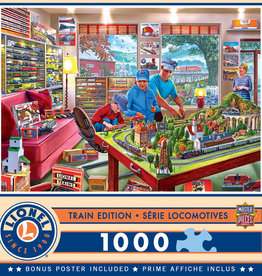 Master Pieces 1000pc Lionel The Boy's Playroom