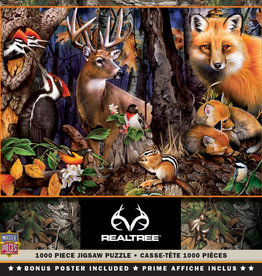 Master Pieces RealTree - Forest Gathering 1000pc Puzzle
