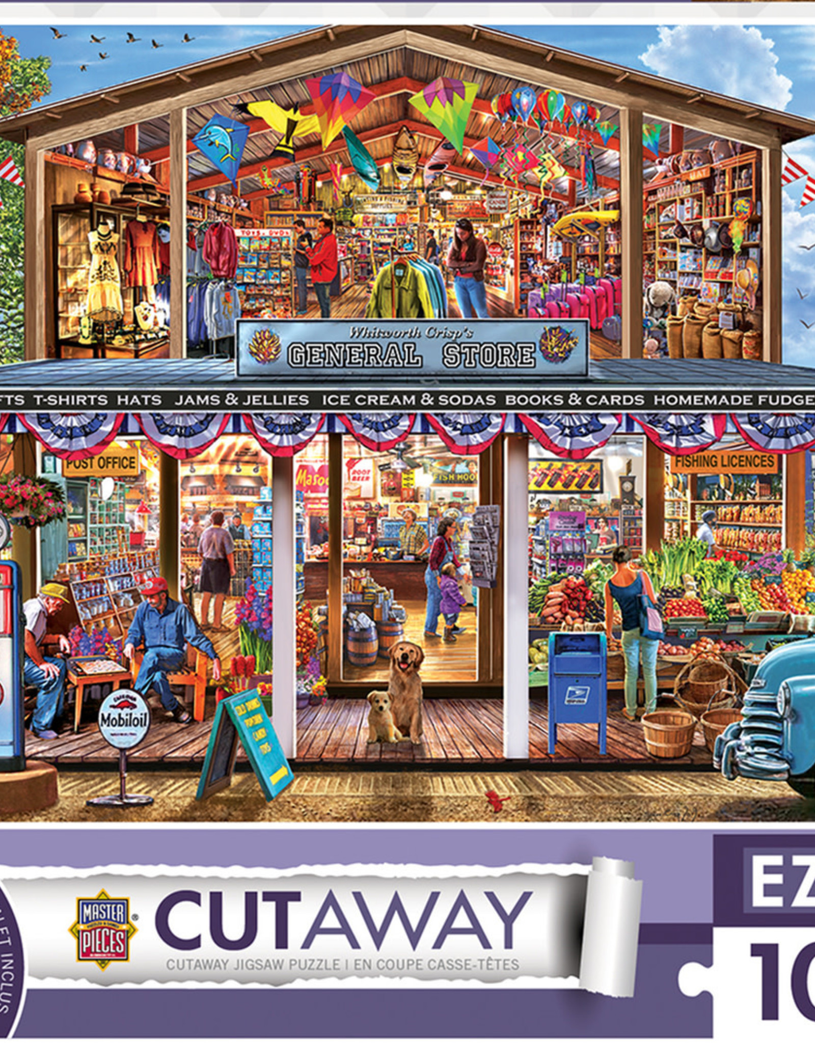 Master Pieces 1000pc EZ Grip Hometown Market