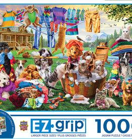 Master Pieces 1000pc EZ Grip Laundry Day Rascals