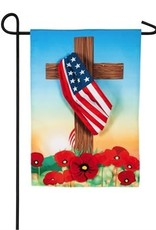 Evergreen EV Cross with American Flag GF
