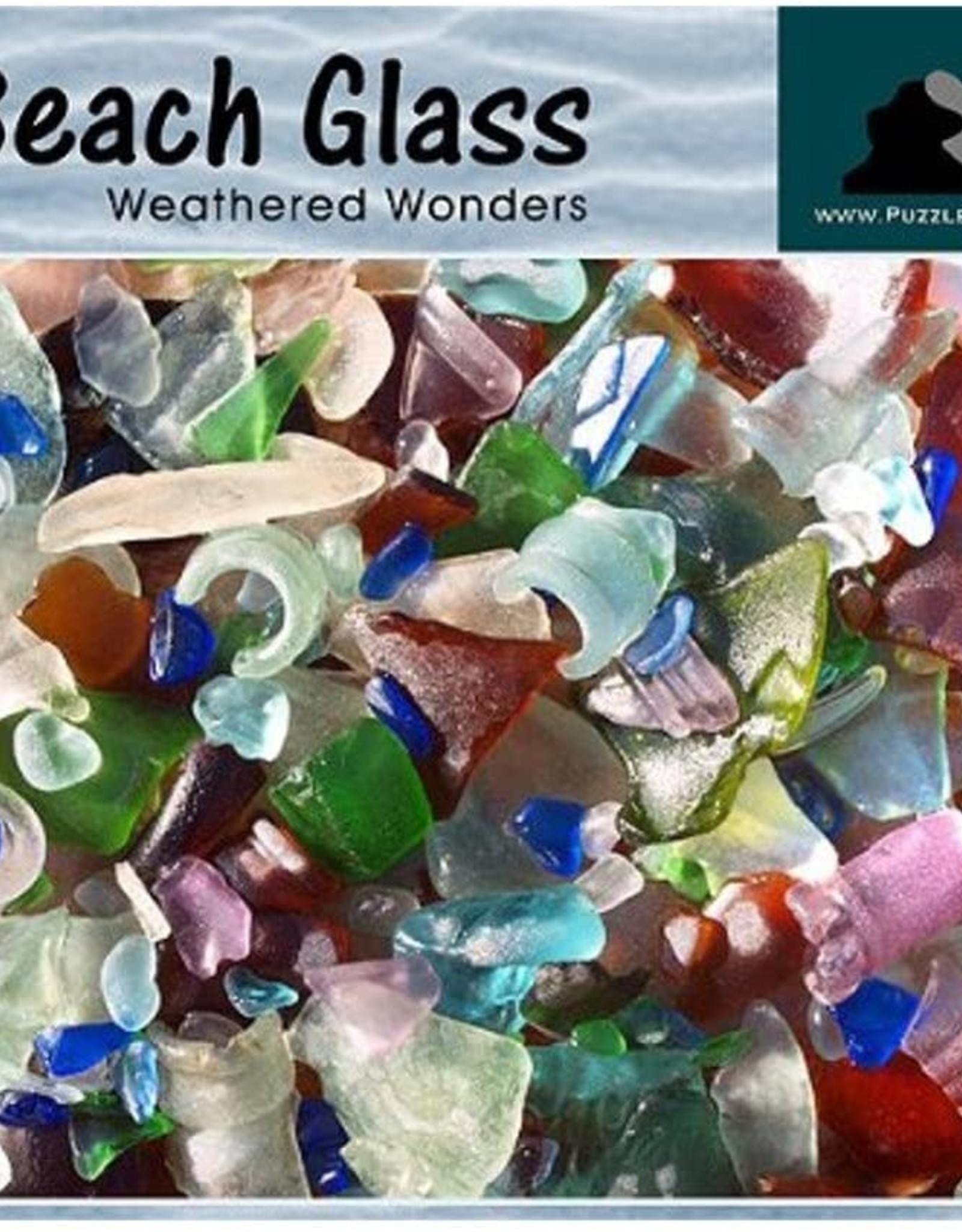 Puzzles That Rock 550pc Beach Glass
