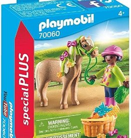 Playmobil PM Girl with Pony