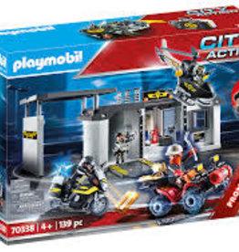 Playmobil PM Take Along Tactical Unit Headquarters