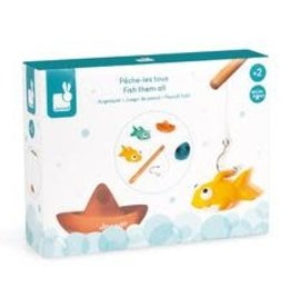 Janod Fish Them All Bath Toy