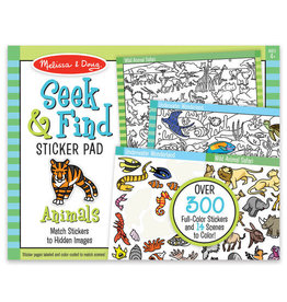 Melissa & Doug MD Seek & Find Sticker Pad Animals