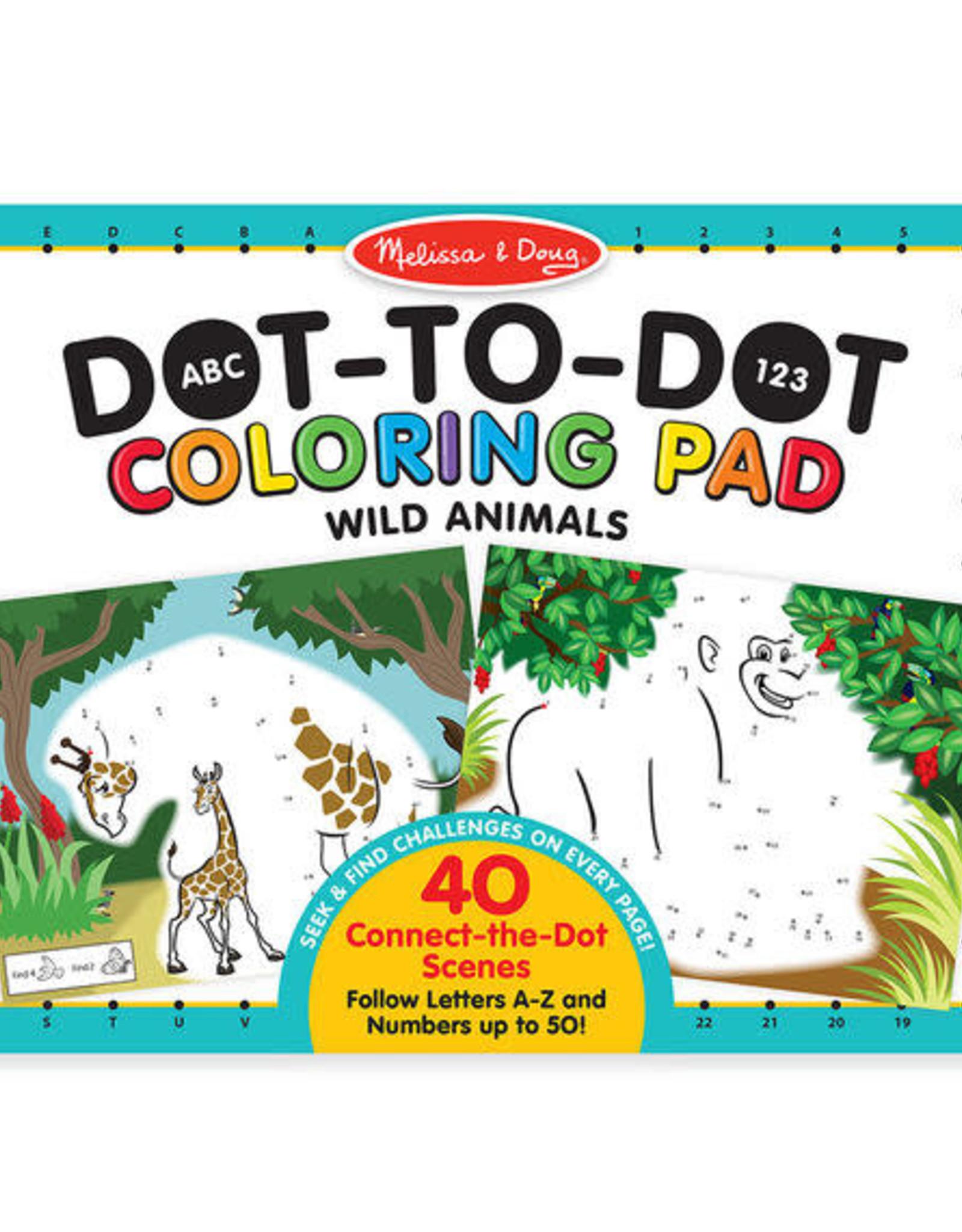 Melissa & Doug MD Dot to Dot Coloring Pad