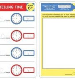 Melissa & Doug MD Learning Mat Telling Time