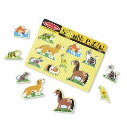 Melissa & Doug MD Sound Puzzle Pets