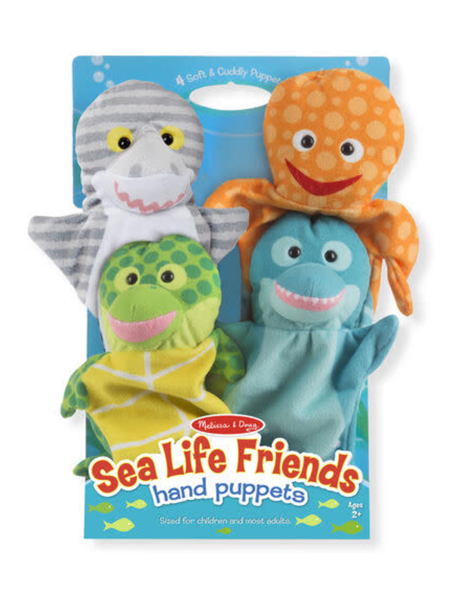 Melissa & Doug MD Puppets Sea Life