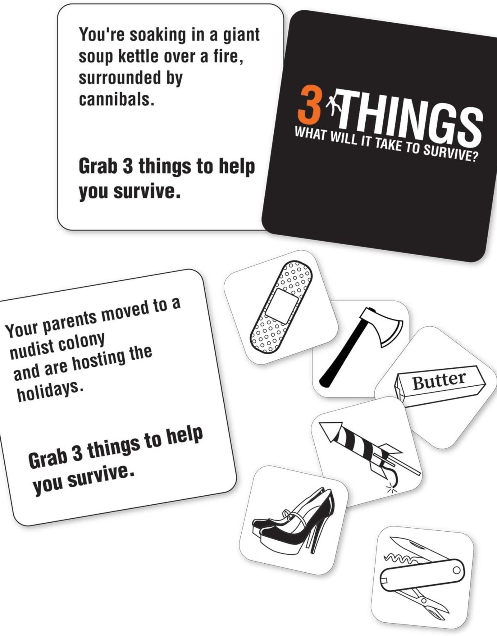 3 Things Game