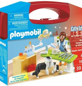 Playmobil PM Carry Case Vet Visit