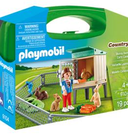 Playmobil PM Bunny Barn Carry Case