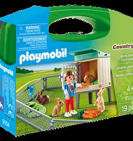 Playmobil PM Bunny Barn Carry Case
