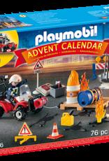 Playmobil PM Construction Site Advent