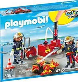 Playmobil PM Firefighting Water Pump