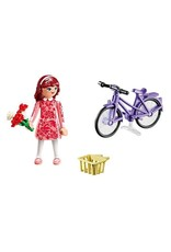 Playmobil PM Maricela with Bicycle