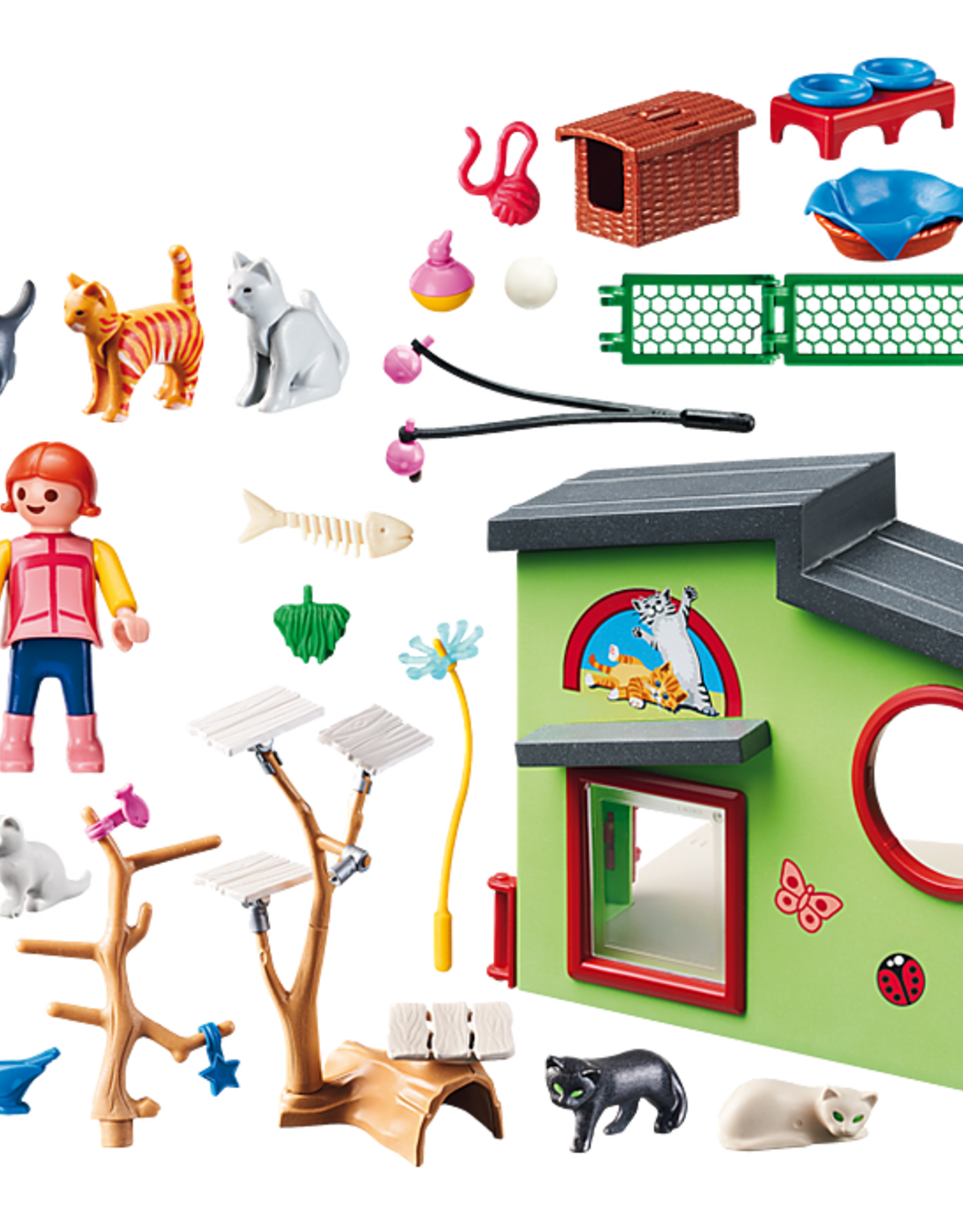 Playmobil PM Purrfect Stray Cat Boarding