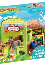 Playmobil PM Snips & Senor Carrots Stall