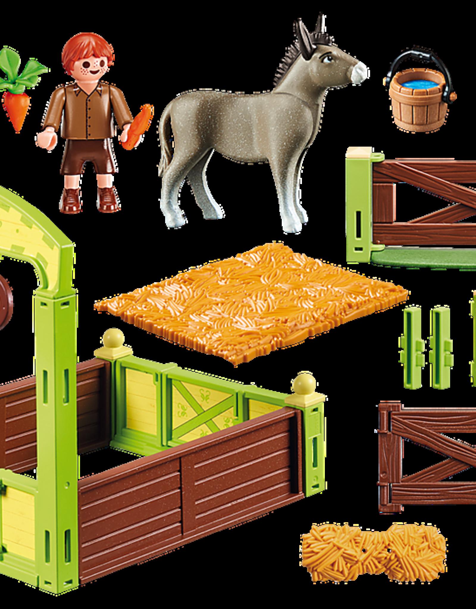 Playmobil PM Snips & Senor Carrots Stall