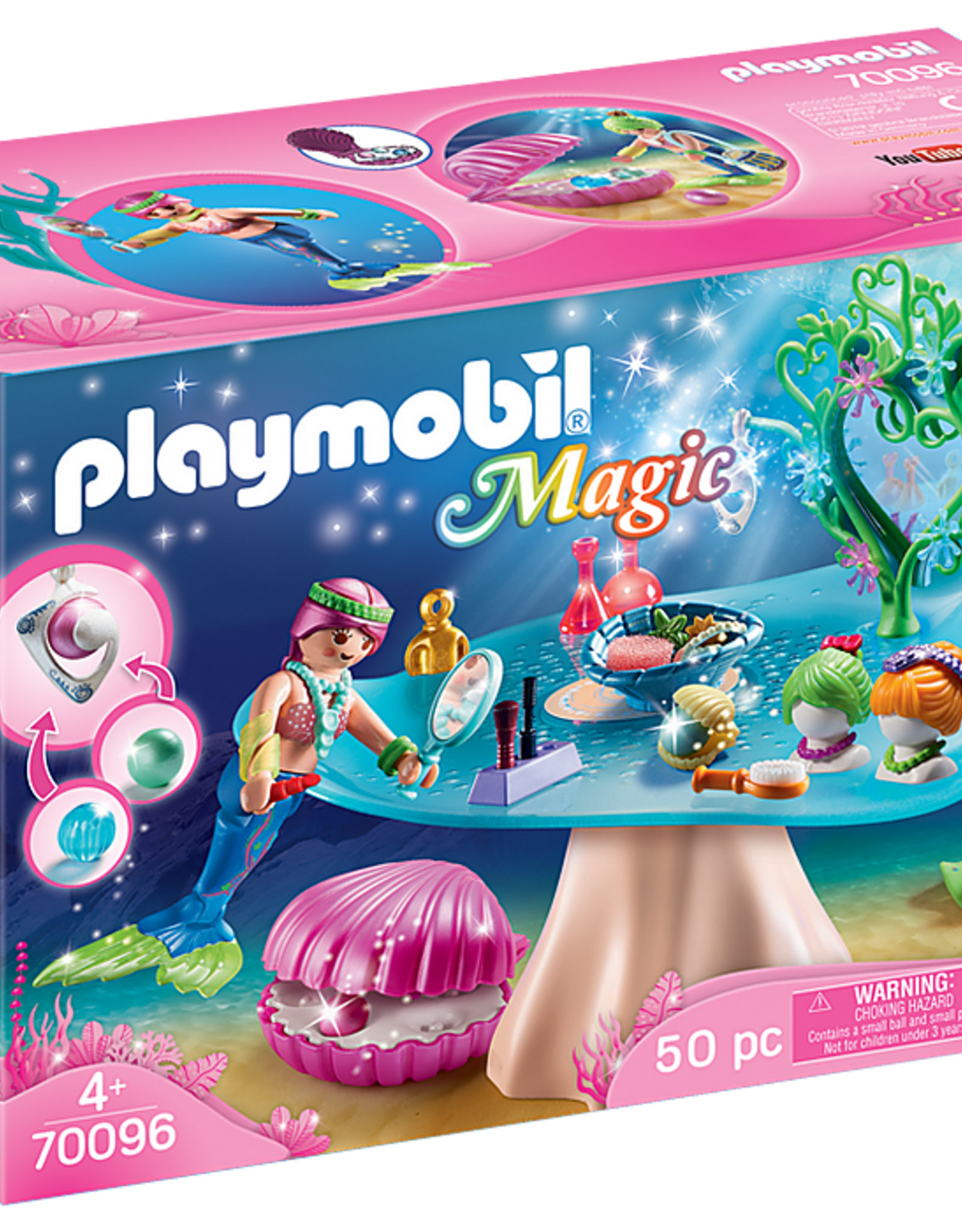 Playmobil Mermaid Beauty Salon with Jewel Case
